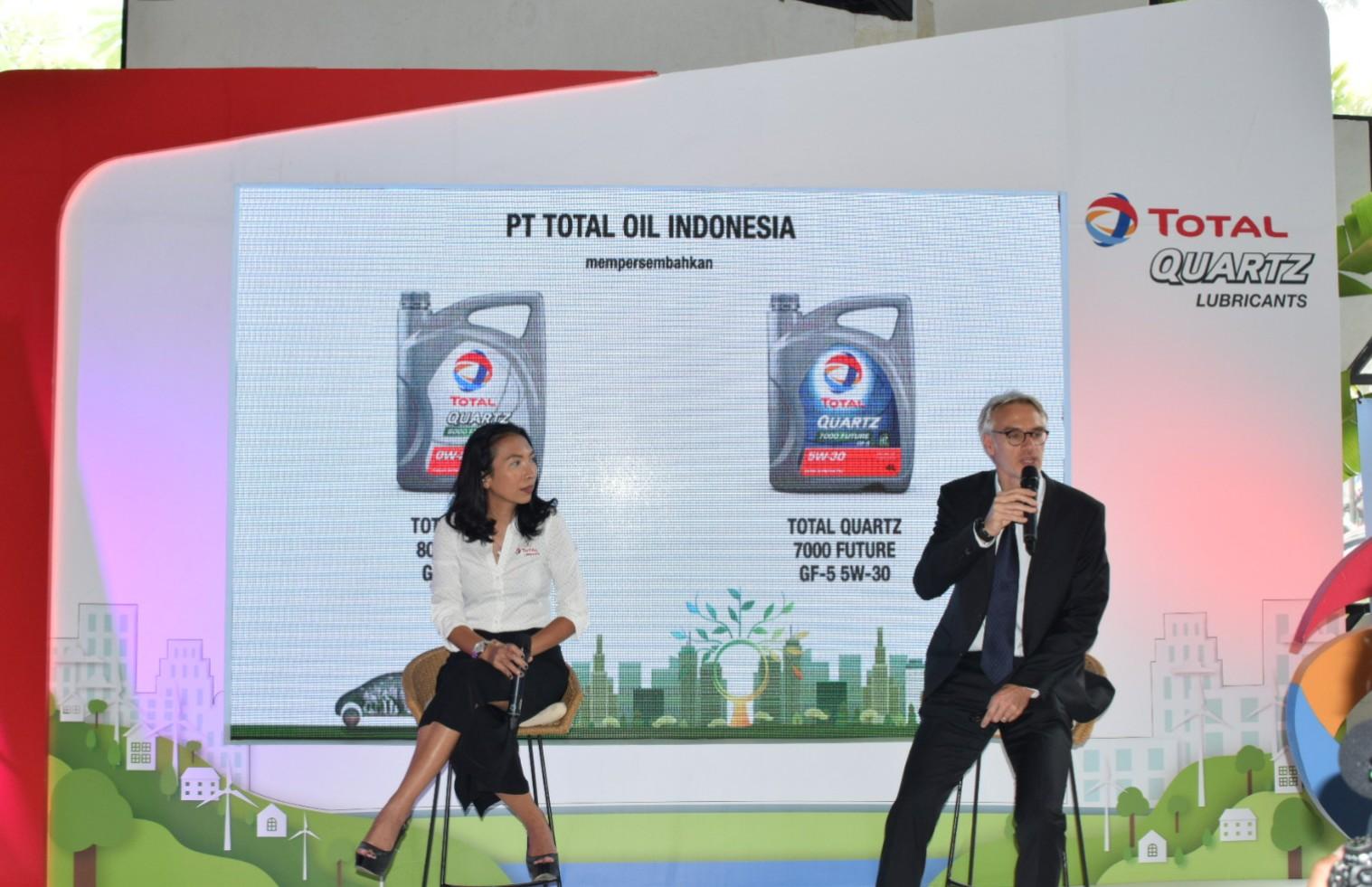 PT Total Oil Indonesia Meluncurkan Pelumas Mesin Premium